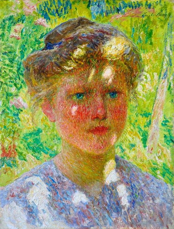 Jeune fille (c. 1901), Emile Claus. Thomas Deprez Fine Arts at B/FAF