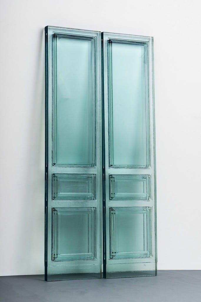 Due Porte (2016), Rachel Whiteread. © Rachel Whiteread, Galleria Lorcan O'Neill, Rome