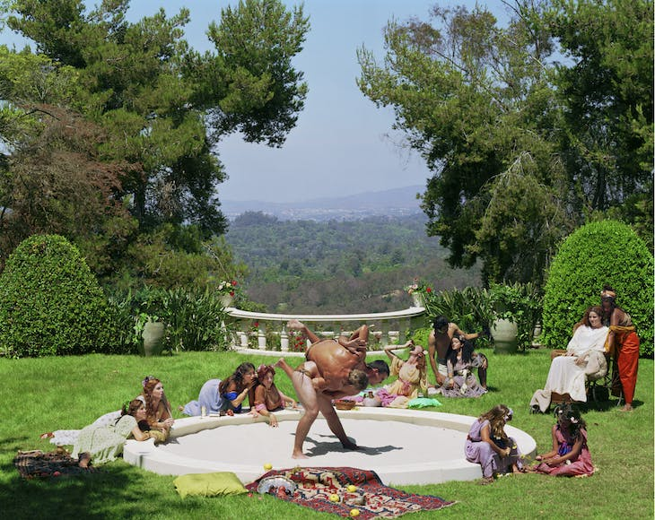 A Hot Afternoon from 'The Last Days of Pompeii (2001), Eleanor Antin. Courtesy Richard Saltoun; © the artist
