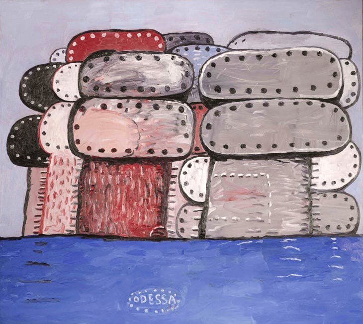 Odessa (1977), Philip Guston. Sotheby's London (£2.5m–£3.5m). Image courtesy Sotheby's