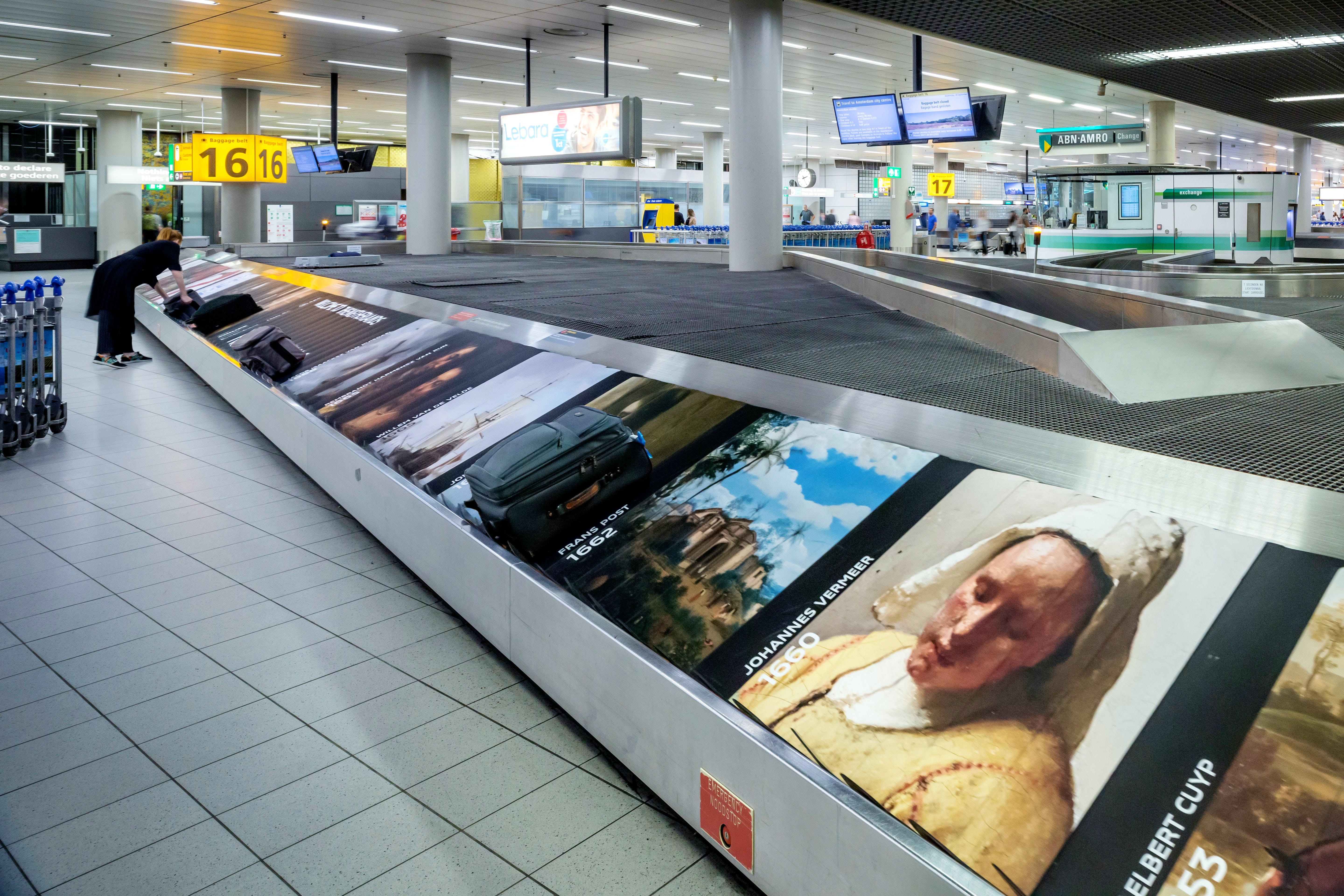 Absolute belter: Rijksmuseum highlights in the Schipol baggage hall