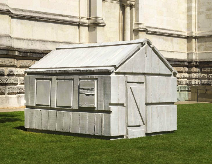 Chicken Shed (2017), Rachel Whiteread. © Rachel Whiteread. Photo: © Tate