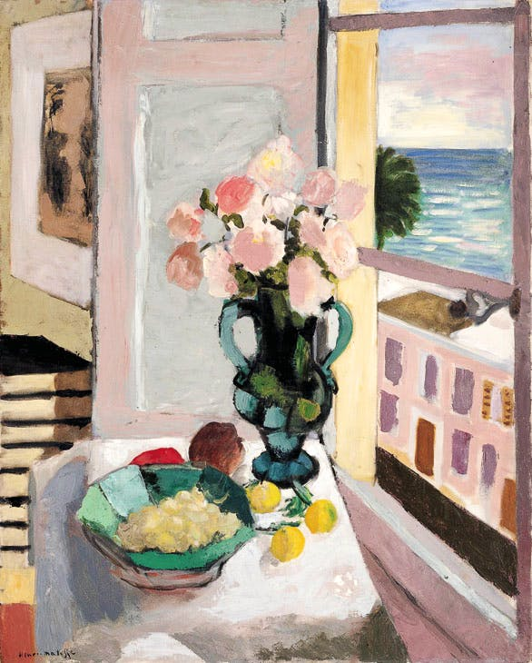 Safrano Roses at the Window (1925), Henri Matisse. Private collection.