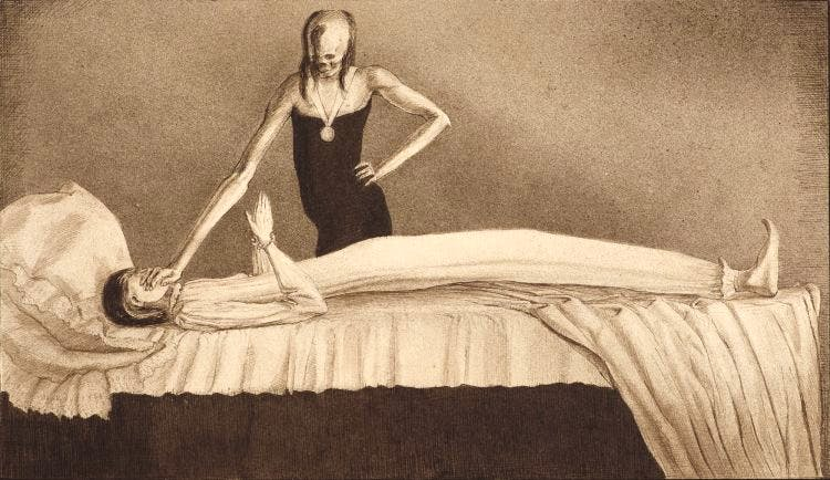 Der beste Arzt (The Best Doctor; 1901), Alfred Kubin