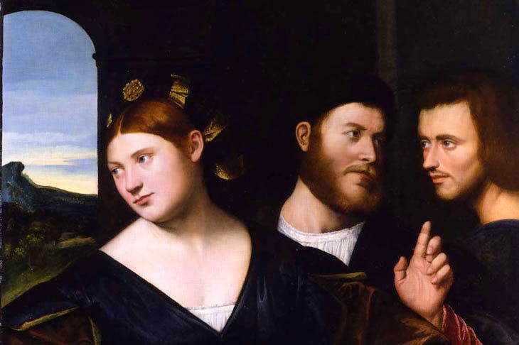 An Allegory of Love (c. 1520), Bernardino Licinio. Robilant + Voena (€750,000)
