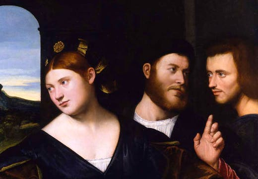 An Allegory of Love (c. 1520), Bernardino Licinio. Robilant + Voena (€750,000)
