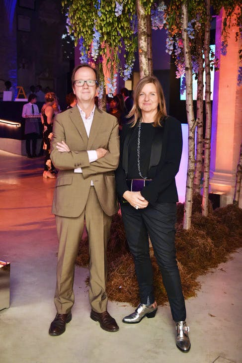 Graham Southern and Antje Southern at the Apollo 40 Under 40 Global launch party. © Nick Harvey