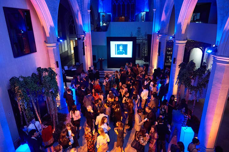 The Apollo 40 Under 40 Global launch party at the Garden Museum, London. © Nick Harvey