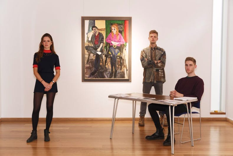 Officers of the Pembroke College Junior Common Room Art Collection, (2015), Martin Parr.