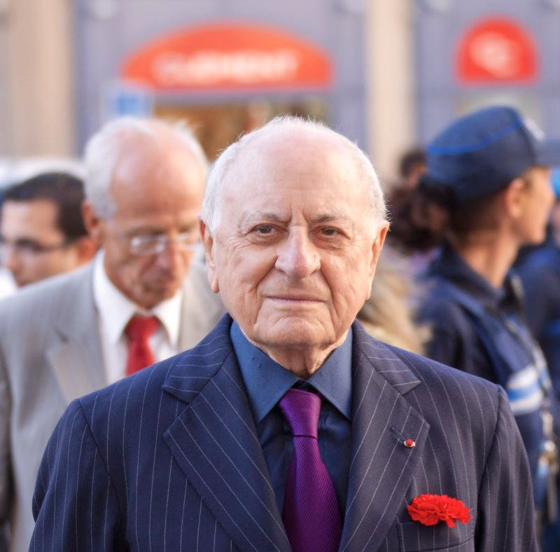 Pierre Bergé in 2012