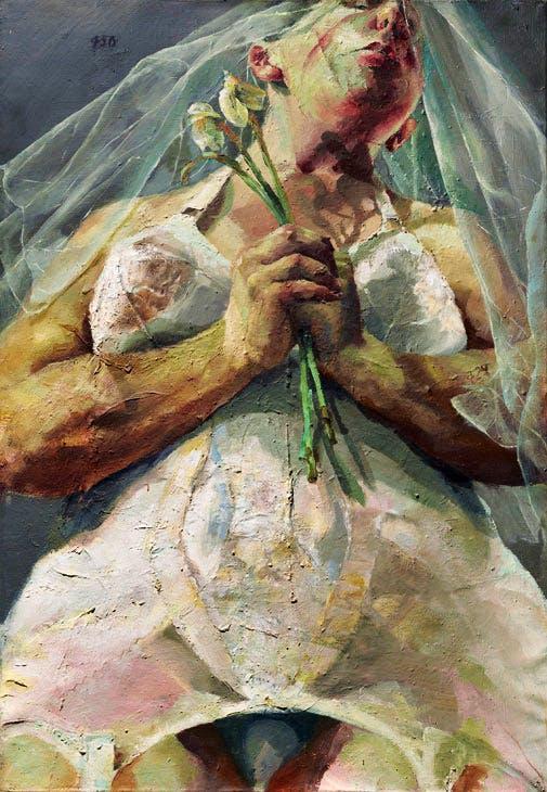 The Bride (1992), Jenny Saville. Christie's London (£1m–£1.5m). Christie's Images Ltd 2017