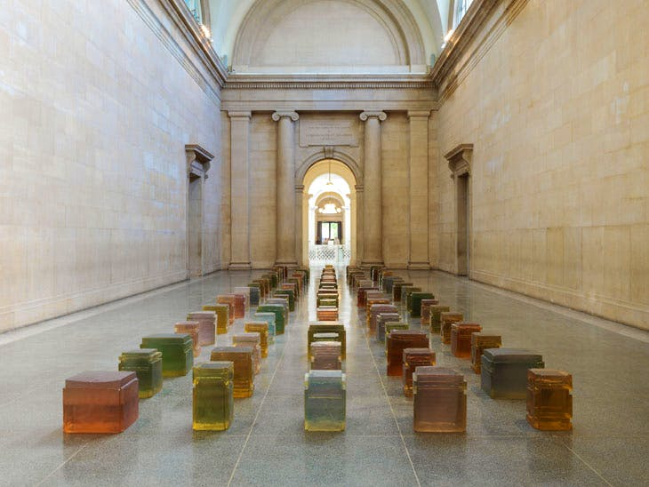 Untitled (One Hundred Spaces) (1995), Rachel Whiteread. © Rachel Whiteread. Photo: © Tate (Seraphina Neville and Andrew Dunkley)