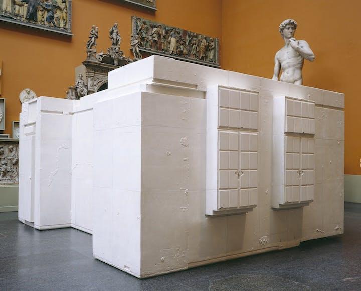 Untitled (Room 101) (2003), Rachel Whiteread. © Rachel Whiteread, Musée National d'Art Moderne – Centre Pompidou, Paris