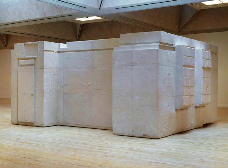 Untitled (Room 101) (2003), Rachel Whiteread. © Rachel Whiteread. Photo: © Tate