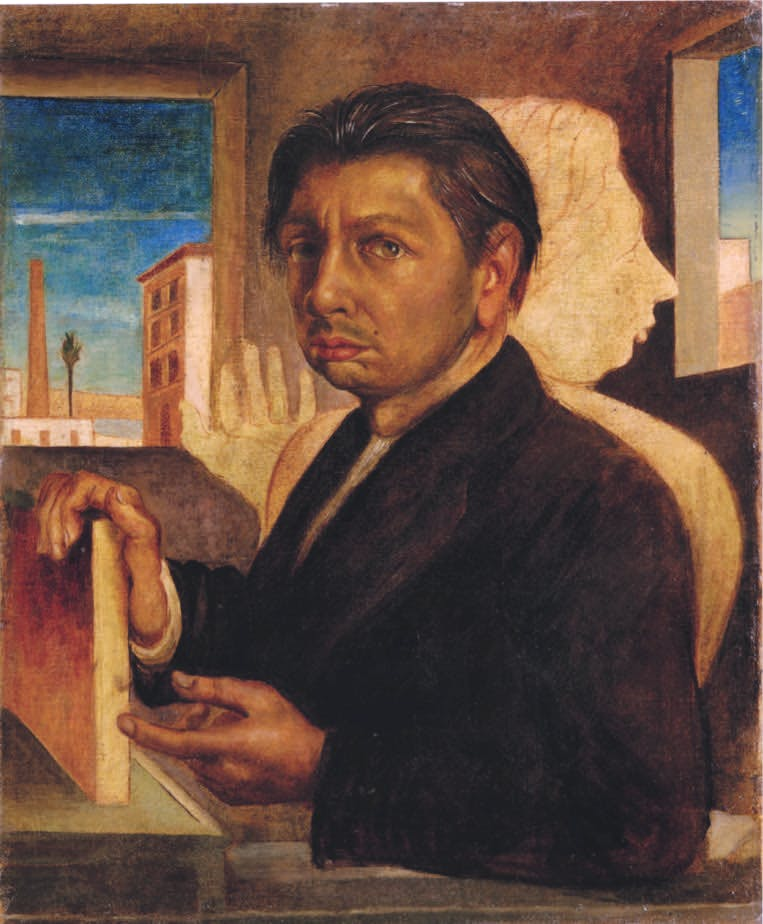 Metaphysical Self-Portrait (1919), Giorgio de Chirico