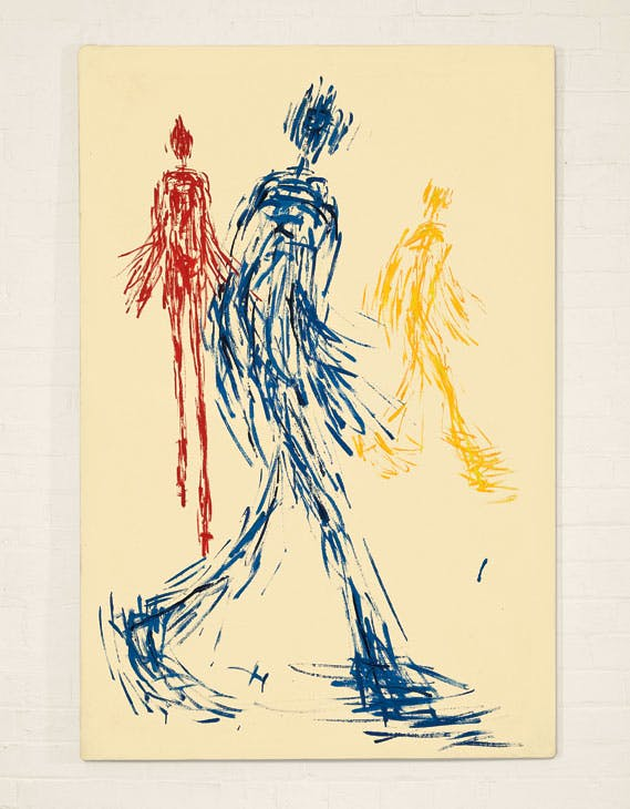Walking Figures (1952), William Turnbull.