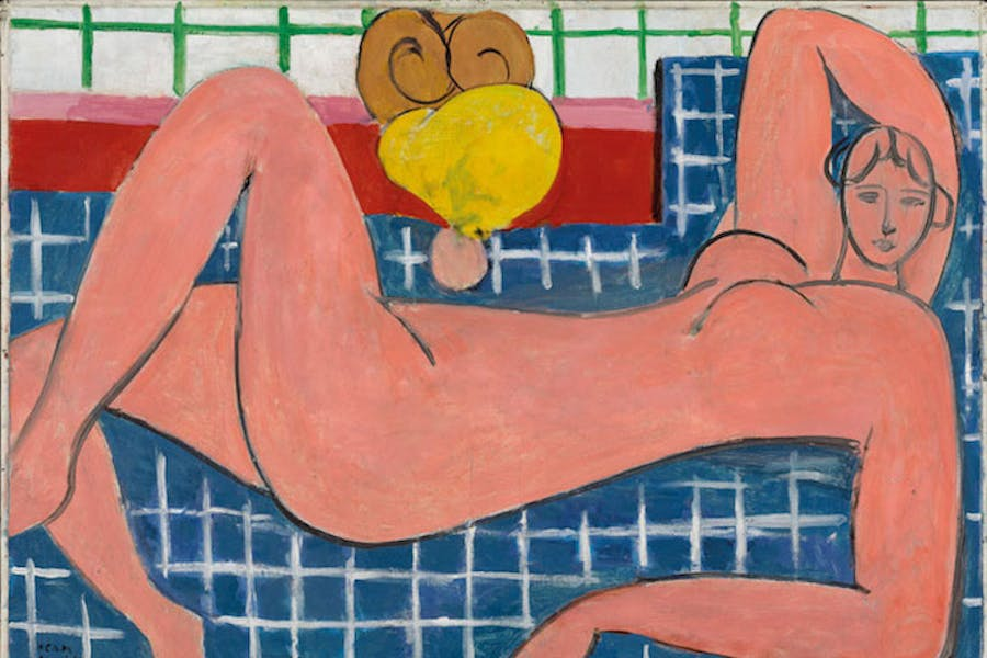 Large Reclining Nude (The Pink Nude) (1935), Henri Matisse. Courtesy of the Baltimore Museum of Art © Succession H. Matisse 2017