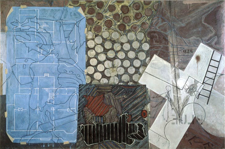 Untitled (1992–94), Jasper Johns. © Jasper Johns / VAGA, New York / DACS, London 2017