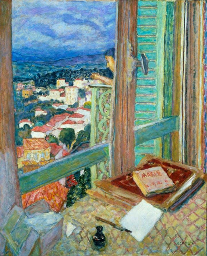 Das Fenster (1925), Pierre Bonnard. Courtesy of the Städel Museum © VG Bild-Kunst, Bonn 2017