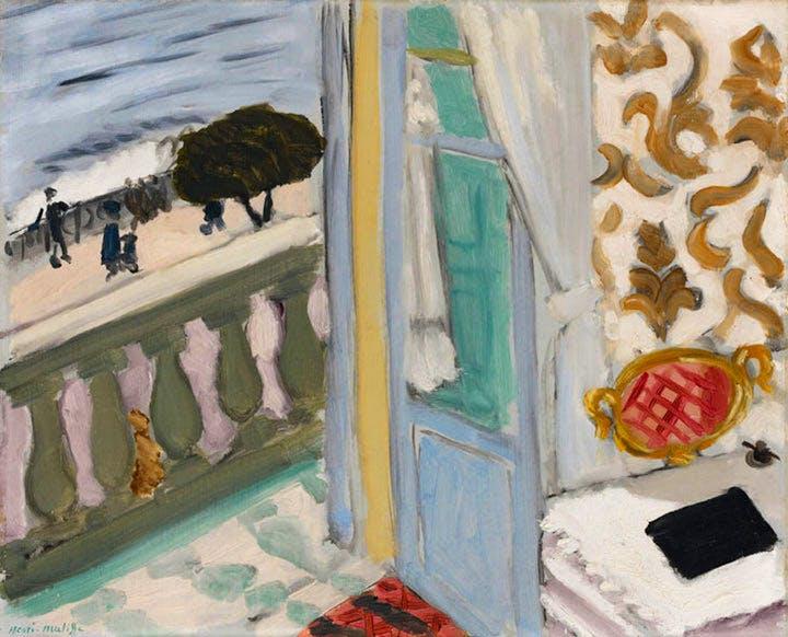 Nice, Cahier Noir (1918), Henri Matisse. Courtesy of the Städel Museum, © Succession H. Matisse 2017
