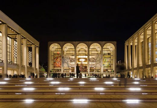 The Lincoln Center, New York City