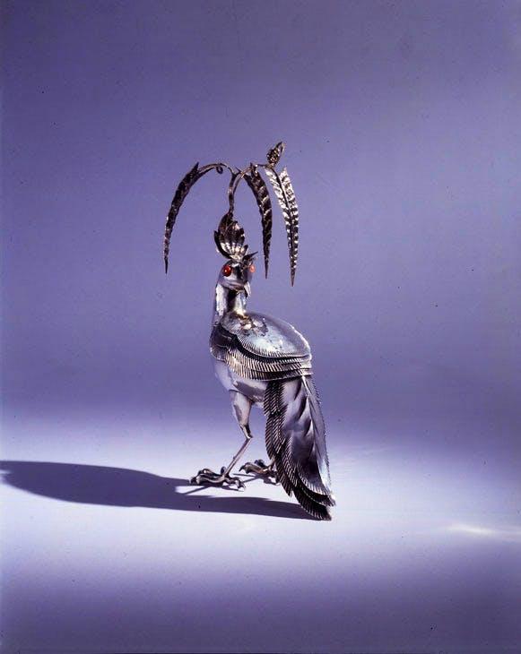 Jewellery box in the shape of a bird, 1920, Dagobert Peche. Neue Galerie, New York