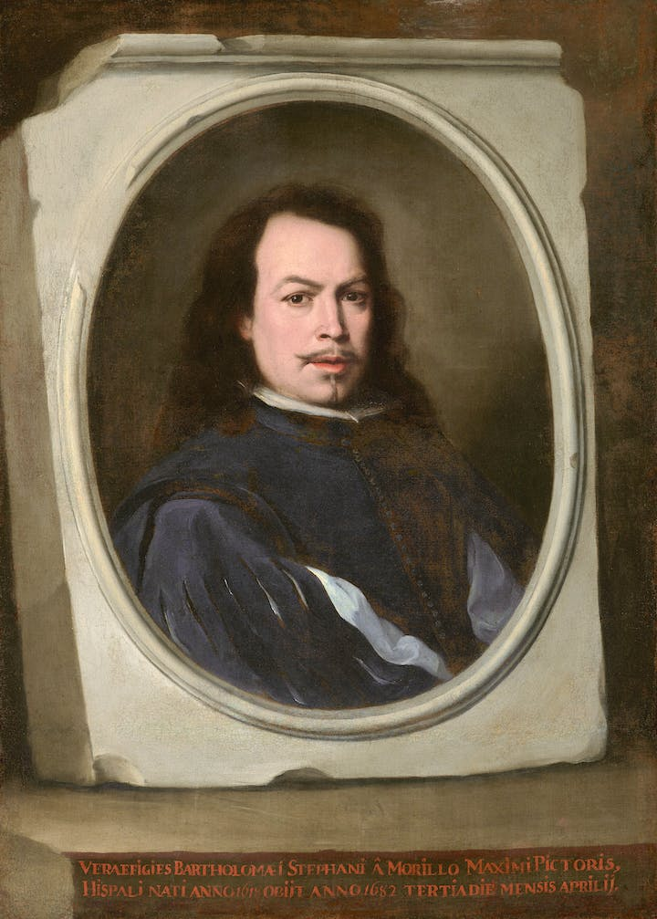 Self-Portrait (c. 1650–55), Bartolomé Esteban Murillo. © The Frick Collection