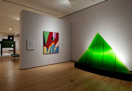 Green Eye of the Pyramid (1993–97), Stanislav Libenský and Jaroslava Brychtová. Gift of Lisa Shaffer Anderson and Dudley Buist Anderson