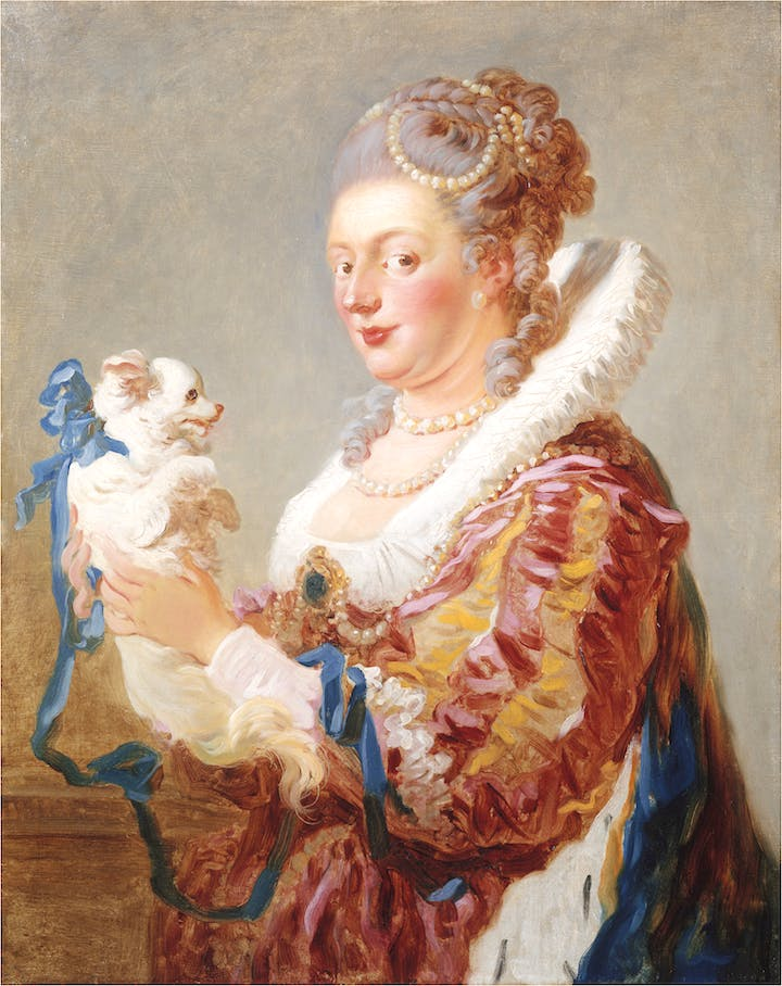 Woman with a Dog (c. 1769), Jean Honoré Fragonard. © The Metropolitan Museum of Art. Image Source: Art Resource, NY