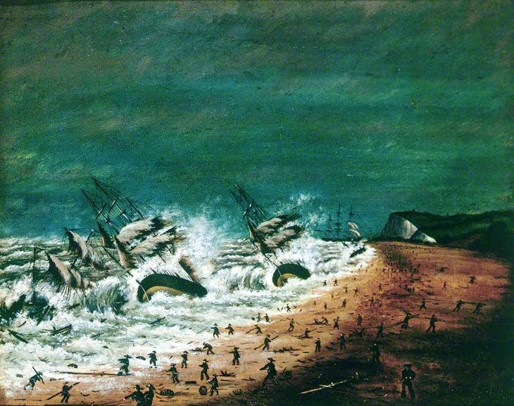 A Terrible Shipwreck (1870), T.L. Mourilyan. Compton Verney