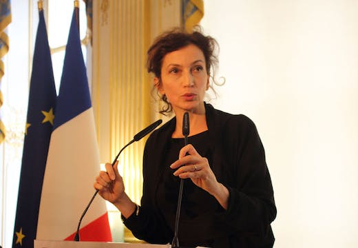 Audrey Azoulay in 2016. Photo: Wikimedia Commons