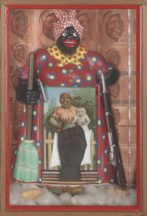 The Liberation of Aunt Jemima (1972), Betye Saar. Courtesy of the artist and Roberts & Tilton, Los Angeles, California; © Betye Saar