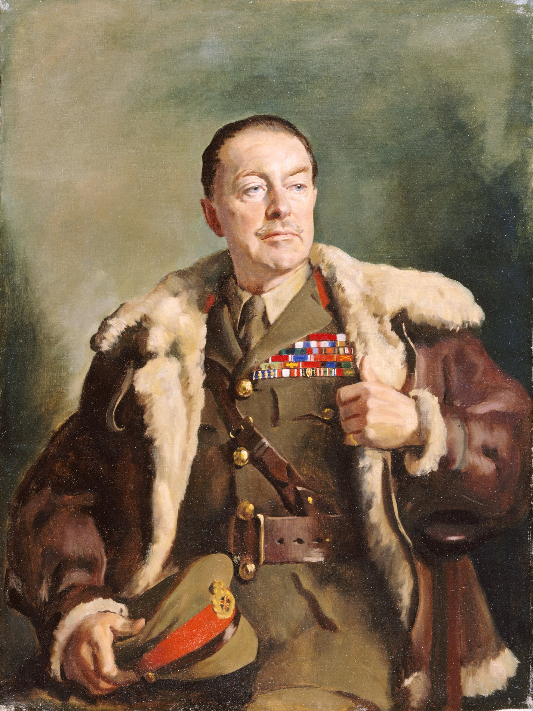 Field Marshal Viscount Alexander of Tunis, (1946), Oswald Birley, White's Club, London