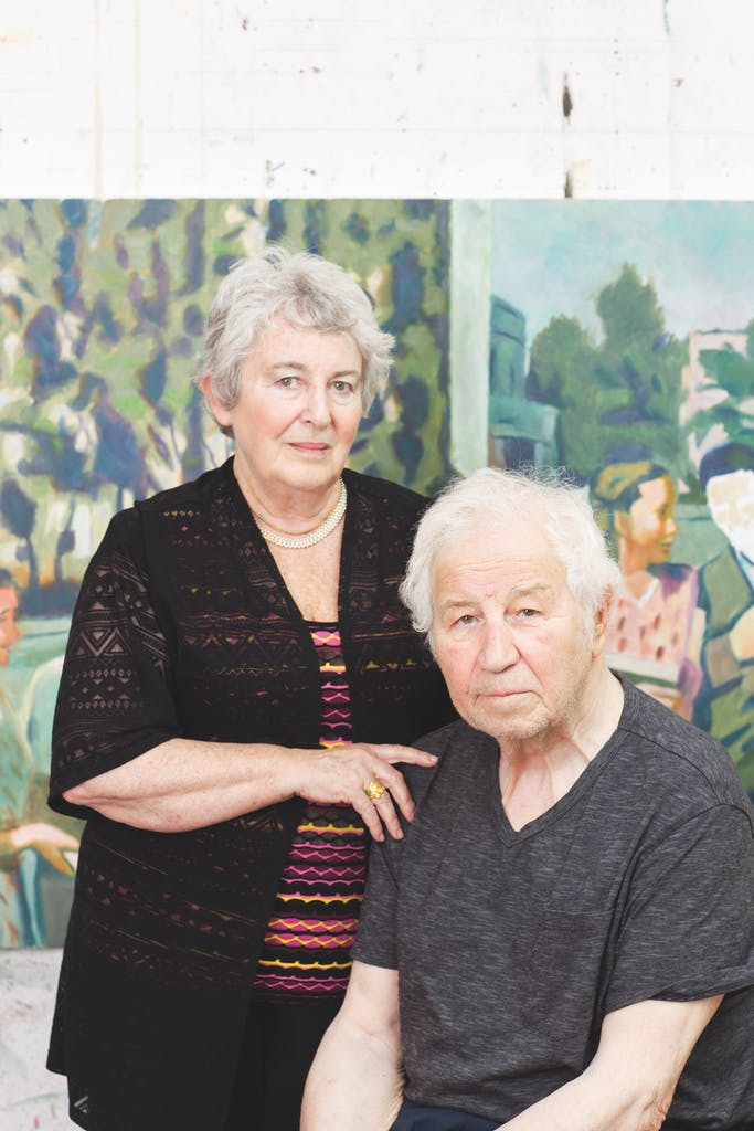 Ilya and Emilia Kabakov photographed in Long Island, July 2017. Photo: Dina Kantor