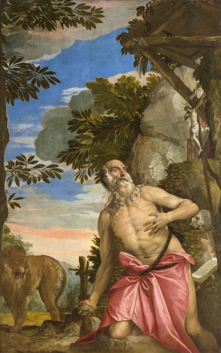 St. Jerome in the Wilderness (1566–67), Paolo Veronese. Photo: Ufficio Beni Culturali del Patriarcato di Venezia