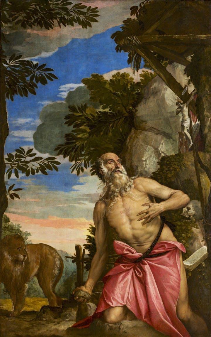 St. Jerome in the Wilderness (1566–67), Paolo Veronese. Photo: Ufficio Beni Culturali del Patriarcato di Venezia