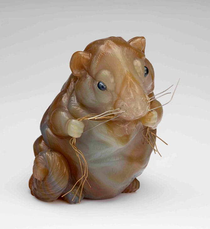 Queen Alexandra's Dormouse (c. 1910), Fabergé. Royal Collection Trust / © Her Majesty Queen Elizabeth II 2017