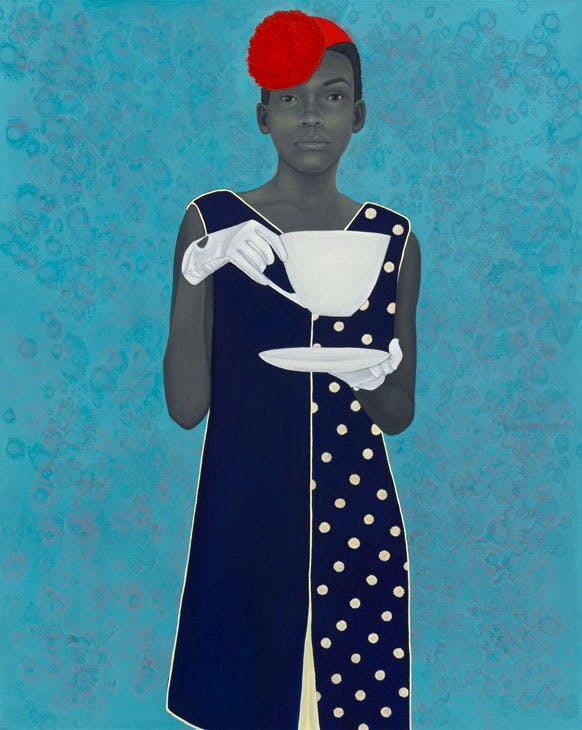 Miss Everything (Unsuppressed Deliverance) (2013), Amy Sherald. Frances and Burton Reifler. © Amy Sherald