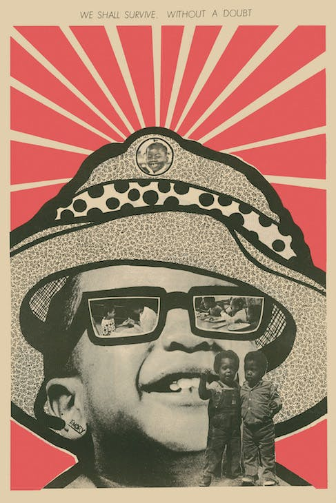 21 August 1971, 'We Shall Survive without a doubt' (1971), Emory Douglas. Courtesy of Emory Douglas/Art Resource, NY; © Emory Douglas/ARS NY