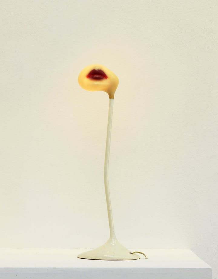 Lampe–Bouche (1966), Alina Szapocznikow. © ADAGP, Paris 2017. Courtesy The Estate of Alina Szapocznikow / Piotr Stanislawski / Galerie Loevenbruck, Paris. Photo: Fabrice Gousset