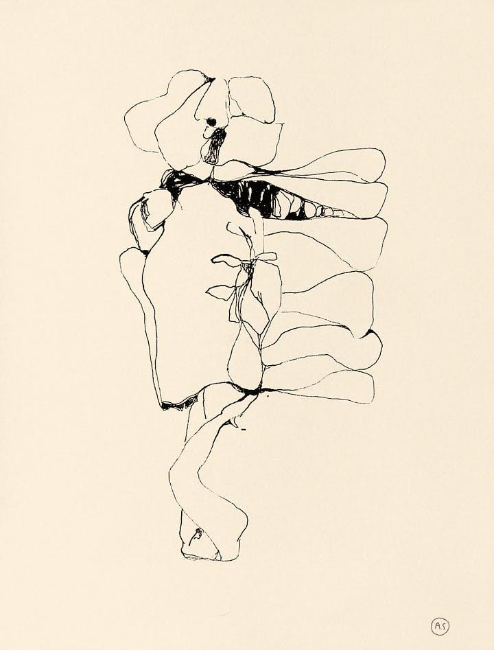 Untitled (c. 1970–71), Alina Szapocznikow. © ADAGP, Paris 2017. Courte- sy The Estate of Alina Szapocznikow / Piotr Stanislawski / Galerie Loevenbruck, Paris