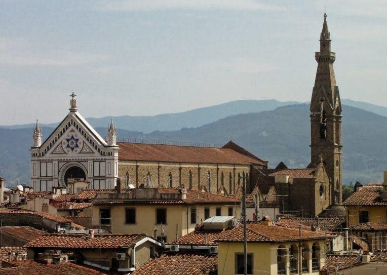 The Basilica di Santa Croce, Florence