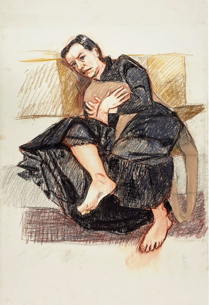 Five, The Depression Series (2007), Paula Rego. © Paula Rego, courtesy of Marlborough Fine Art