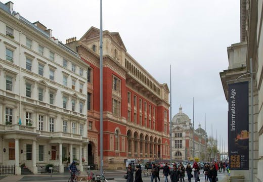 South Kensington's Exhibition Road