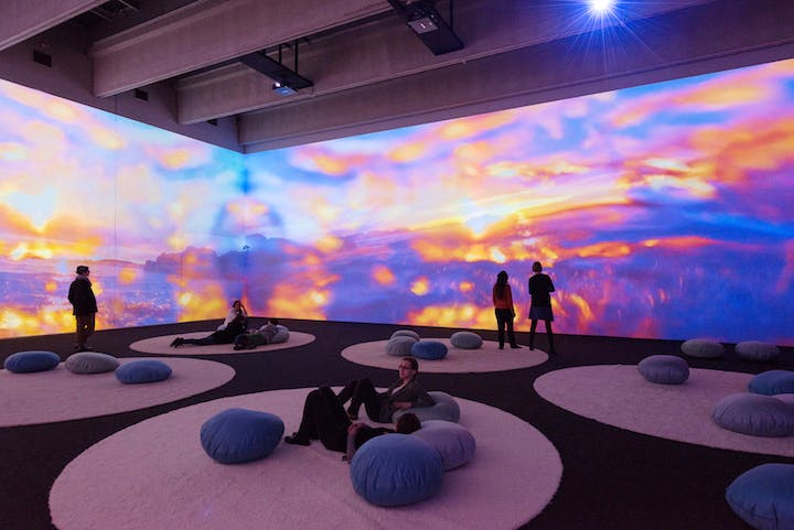 Gnade Donau Gnade 2 (from the Mercy Garden Family, 2013–15), Pipilotti Rist. Courtesy the artist, Hauser & Wirth and Luhring Augustine © the artist, photograph: Lisa Rastl