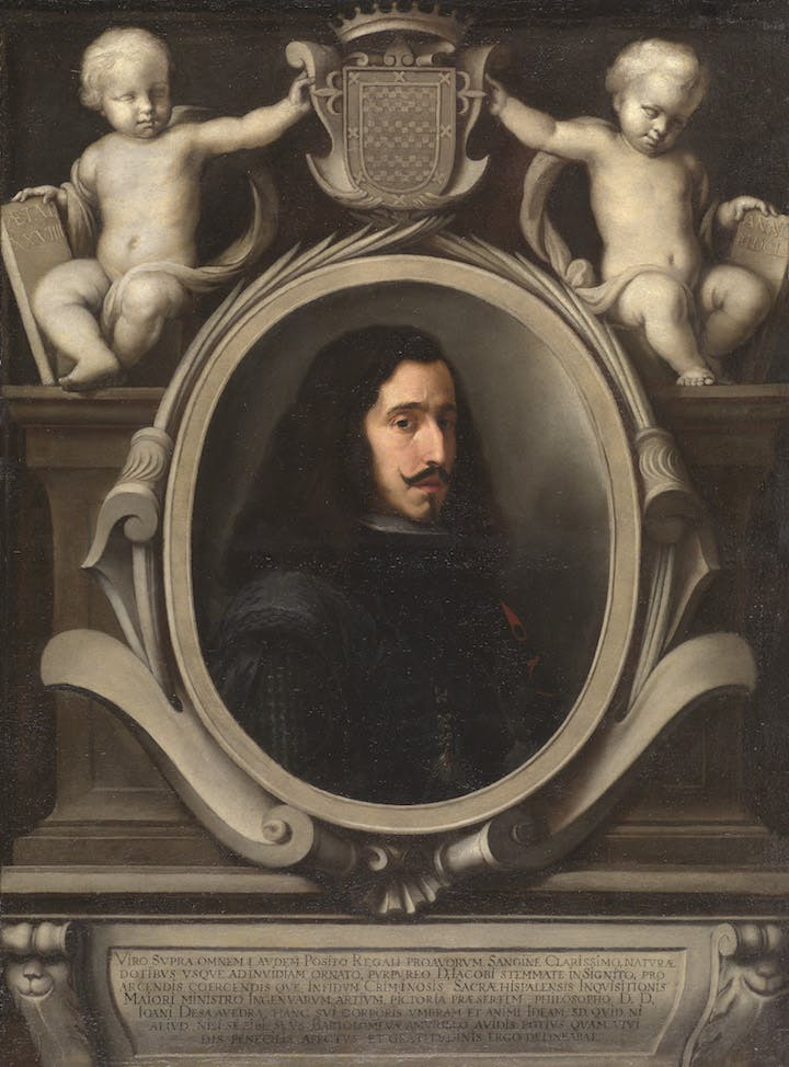 Juan Arias de Saavedra (1650), Bartolomé Esteban Murillo. Collection Duchess of Cardona