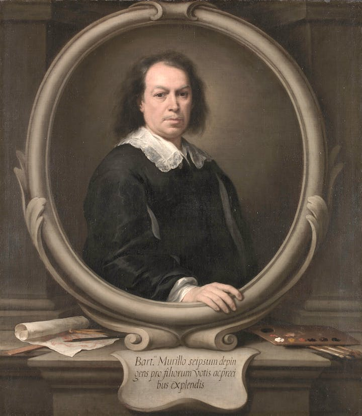 Self-Portrait (c. 1670), Bartolomé Esteban Murillo. © The National Gallery, London
