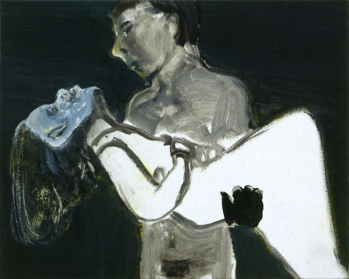 The Image as Burden (1993), Marlene Dumas. © Marlene Dumas. Photo: Peter Cox