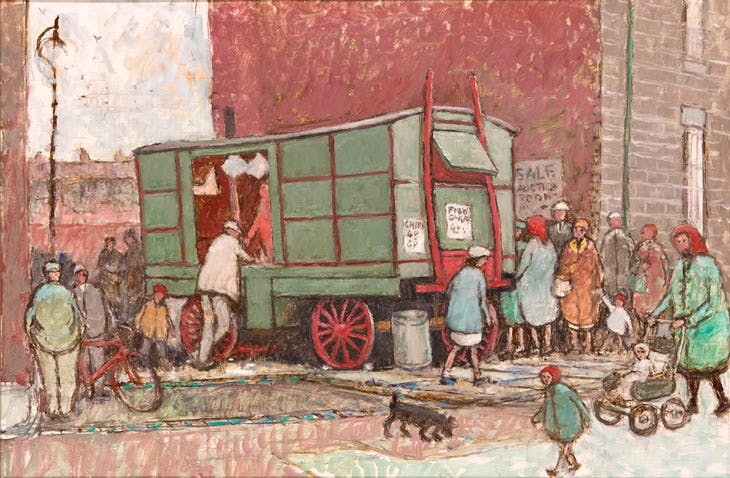 Berrymans Chip Van (n.d.), Norman Cornish