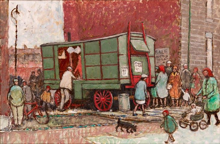Berrymans Chip Van (n.d.), Norman Cornish
